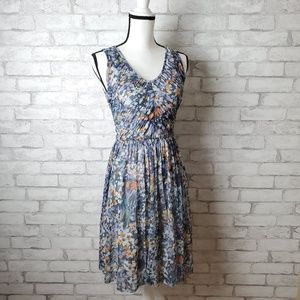 Anthropologie Western Wear Vera Mesh Dress